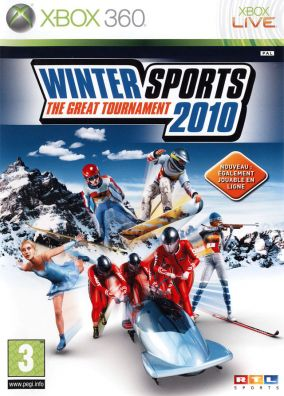Immagine della copertina del gioco Winter Sports 2010: The Great Tournament per Xbox 360