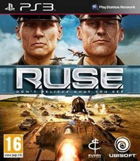 Immagine della copertina del gioco R.U.S.E. per PlayStation 3