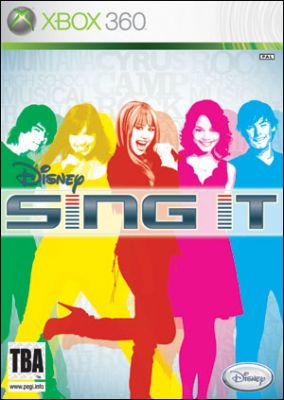 Copertina del gioco Disney Sing it per Xbox 360