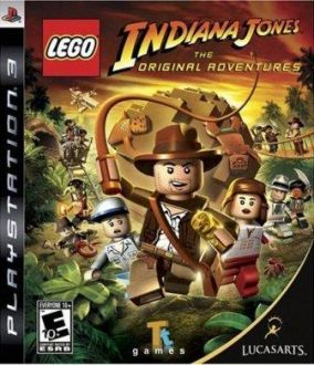 Copertina del gioco LEGO Indiana Jones: Le Avventure Originali per PlayStation 3