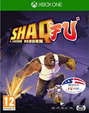 Copertina del gioco Shaq Fu: A Legend Reborn per Xbox One
