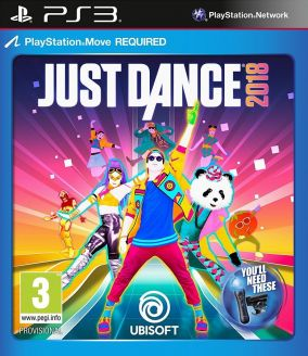 Copertina del gioco Just Dance 2018 per PlayStation 3
