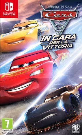 Immagine della copertina del gioco Cars 3: In gara per la vittoria per Nintendo Switch
