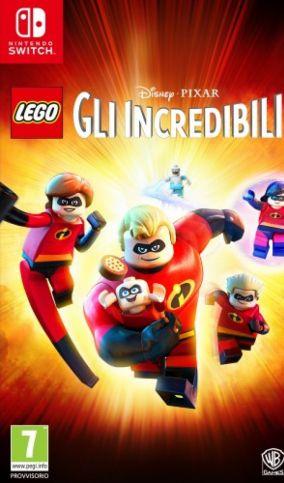 Immagine della copertina del gioco LEGO Gli Incredibili per Nintendo Switch