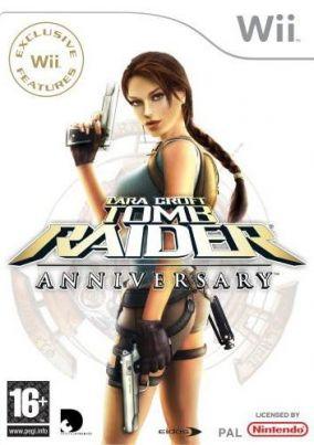 Immagine della copertina del gioco Tomb Raider: Anniversary per Nintendo Wii