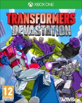 Copertina del gioco Transformers: Devastation per Xbox One