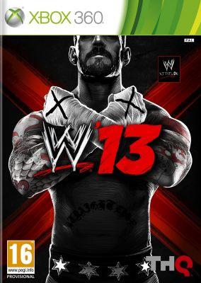 Copertina del gioco WWE 13 per Xbox 360