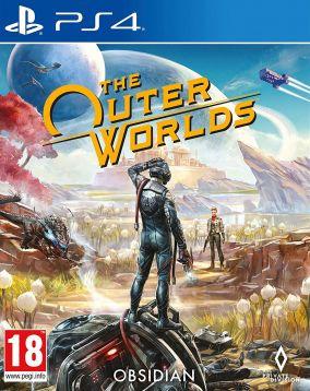 Immagine della copertina del gioco The Outer Worlds per PlayStation 4