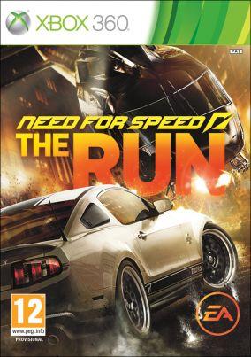 Copertina del gioco Need for Speed: The Run per Xbox 360
