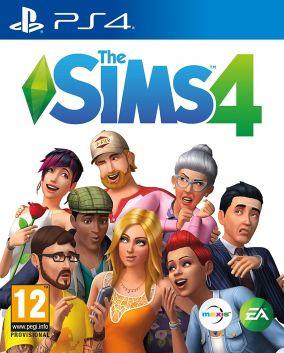 Copertina del gioco The Sims 4 per Playstation 4