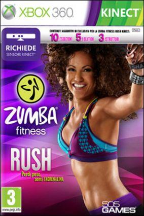 Copertina del gioco Zumba Fitness Rush per Xbox 360