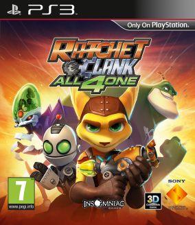 Copertina del gioco Ratchet & Clank: All 4 One per PlayStation 3