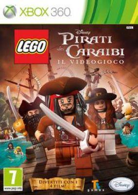 Copertina del gioco LEGO Pirati dei Caraibi per Xbox 360