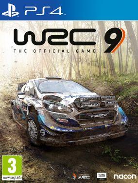 Immagine della copertina del gioco WRC 9 per PlayStation 4