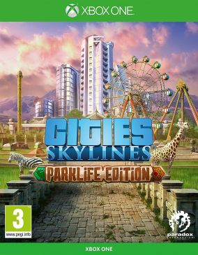 Copertina del gioco Cities: Skyline - Parklife Edition per Xbox One