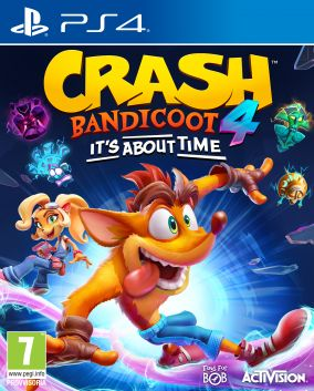 Copertina del gioco Crash Bandicoot 4: It's About Time per PlayStation 4