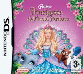 Immagine della copertina del gioco Barbie Island Princess per Nintendo DS