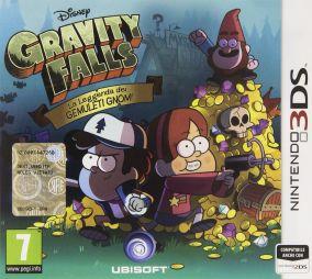 Copertina del gioco Gravity Falls: La Leggenda dei Gemuleti Gnomi per Nintendo 3DS