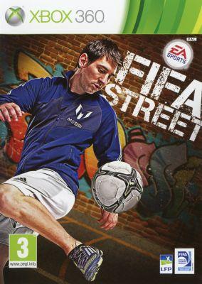 Copertina del gioco FIFA Street per Xbox 360