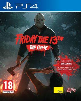 Immagine della copertina del gioco Friday the 13th : The Video Game per PlayStation 4