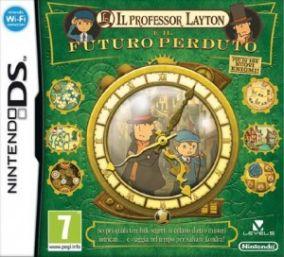 Immagine della copertina del gioco Il Professor Layton e il Futuro Perduto per Nintendo DS