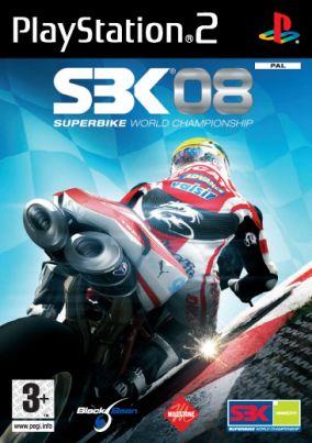 Immagine della copertina del gioco SBK-08 Superbike World Championship per PlayStation 2