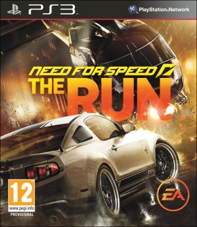 Copertina del gioco Need for Speed: The Run per PlayStation 3