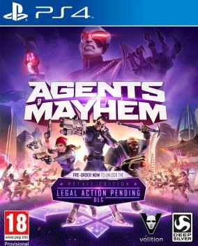 Immagine della copertina del gioco Agents of Mayhem per Playstation 4