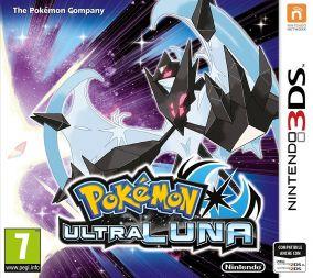 Copertina del gioco Pokemon Ultraluna per Nintendo 3DS