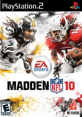 Copertina del gioco Madden NFL 10 per PlayStation 2