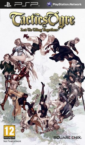 Copertina del gioco Tactics Ogre: Let Us Cling Together per PlayStation PSP
