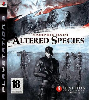 Copertina del gioco Vampire Rain: Altered Species per PlayStation 3
