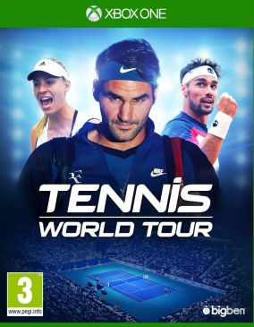 Copertina del gioco Tennis World Tour per Xbox One
