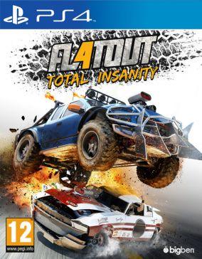 Immagine della copertina del gioco FlatOut 4: Total Insanity per PlayStation 4