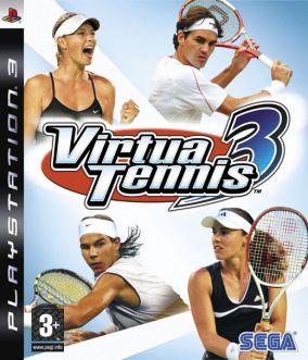 Immagine della copertina del gioco Virtua Tennis 3 per PlayStation 3
