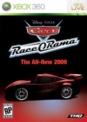Immagine della copertina del gioco Cars Race-O-Rama per Xbox 360