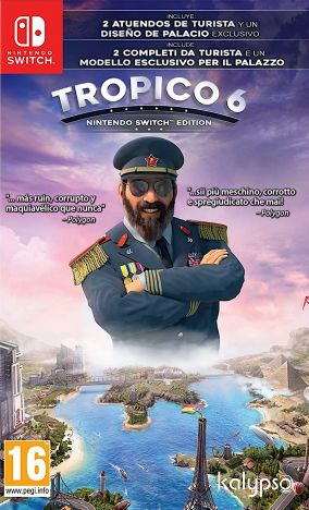 Copertina del gioco Tropico 6 per Nintendo Switch
