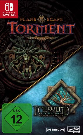 Copertina del gioco Planescape: Torment & Icewind Dale Enhanced Edition per Nintendo Switch