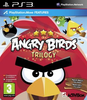Copertina del gioco Angry Birds Trilogy per PlayStation 3