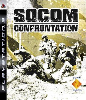 Copertina del gioco SOCOM: U.S. Navy SEALs Confrontation per PlayStation 3