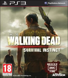 Copertina del gioco The Walking Dead: Survival Instinct per PlayStation 3