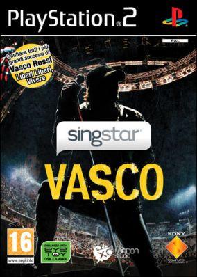 Immagine della copertina del gioco SingStar Vasco per PlayStation 2