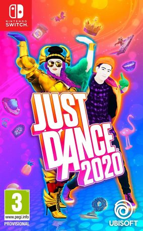 Copertina del gioco Just Dance 2020 per Nintendo Switch