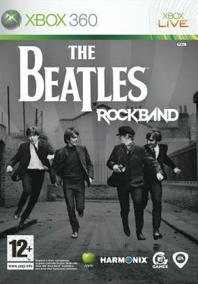 Copertina del gioco The Beatles: Rock Band per Xbox 360