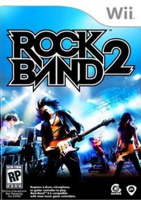 Immagine della copertina del gioco Rock Band 2 per Nintendo Wii