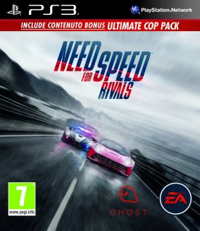 Copertina del gioco Need for Speed Rivals per PlayStation 3