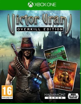 Immagine della copertina del gioco Victor Vran: Overkill Edition per Xbox One