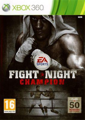 Copertina del gioco Fight Night Champion per Xbox 360