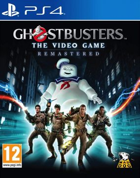 Copertina del gioco GhostBusters: The Videogame Remastered per PlayStation 4