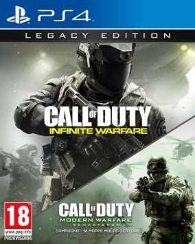 Immagine della copertina del gioco Modern Warfare: Remastered per Playstation 4